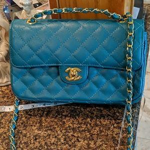 Fashion teal purse NWOT